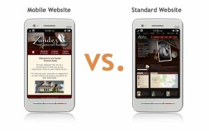 Mobile Website Vs Standard-Website